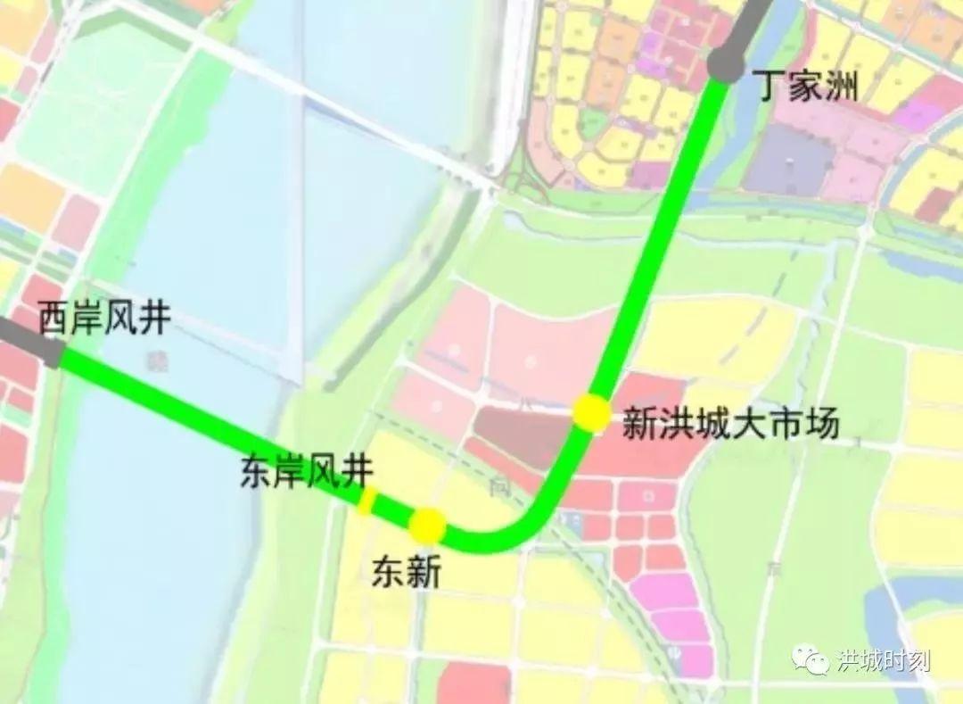 南昌地铁3号线4号线新消息!南昌县段部分站点有调整