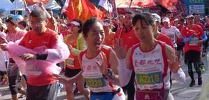 庐山山地半马举行 男女冠军均为埃塞俄比亚选手