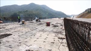 永藤一级公路改扩建工程快速推进