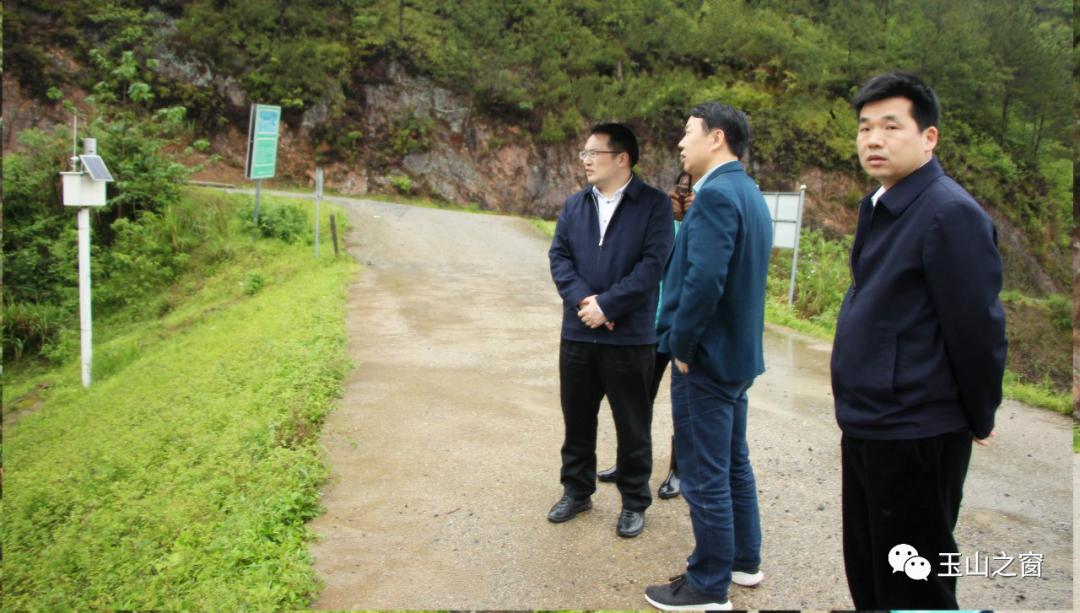 玉山县委副书记、县长徐树斌调研临湖镇防汛及村集体经济发展工作