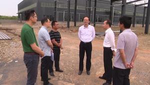 杨龙兴调研高新区在建项目
