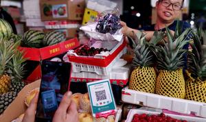 买菜就像逛超市!新建区探索智慧农贸市场新模式