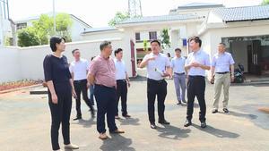 九江市委宣传部一行到我市调研党的基层阵地资源整合试点工作