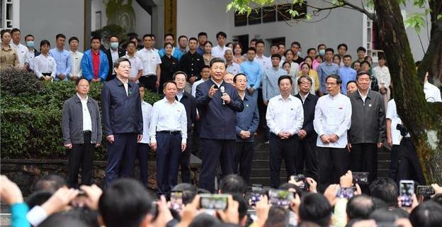 习近平:在推动高质量发展上闯出新路子 谱写新时代中国特色社会主义湖南新篇章