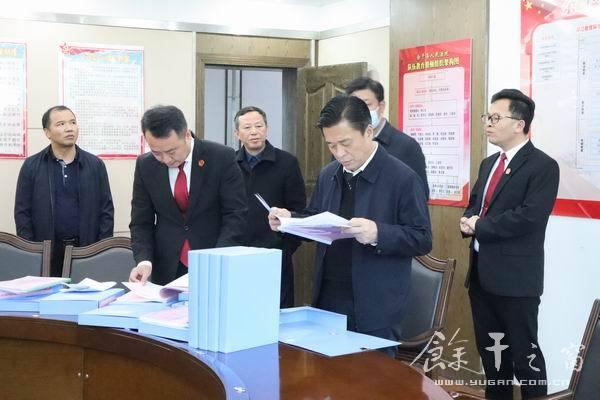 胡伟调研指导全县政法队伍教育整顿工作