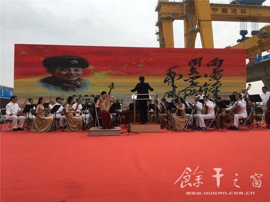 走进昌景黄高铁项目工地党史宣讲音乐会隆重开演