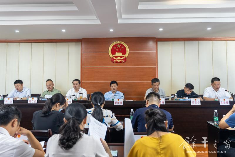 谭学显主持召开余干县第十六届人大常委会第四十四次会议